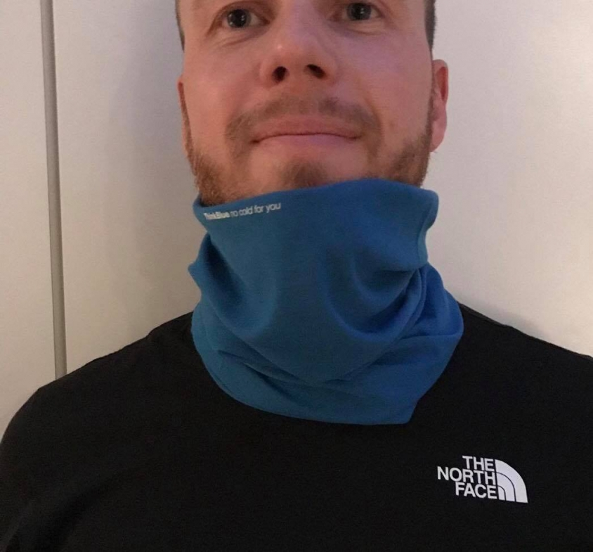 100km Run Buff Thinkblue No Cold for You